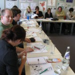 Participants in Counter-Mapping the University workshop at Queen Mary University, London