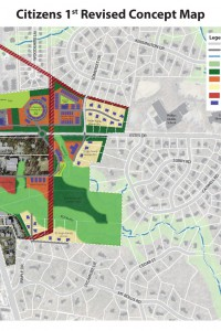 Concept Plan for Central West Chapel Hill (2013)